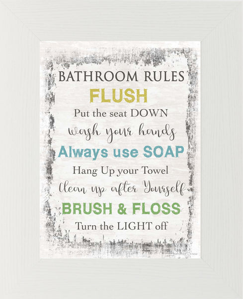 Bathroom Rules SSA033
