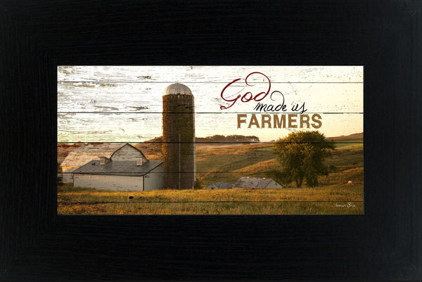 God Made us Farmers SSW1315 - Summer Snow Art
