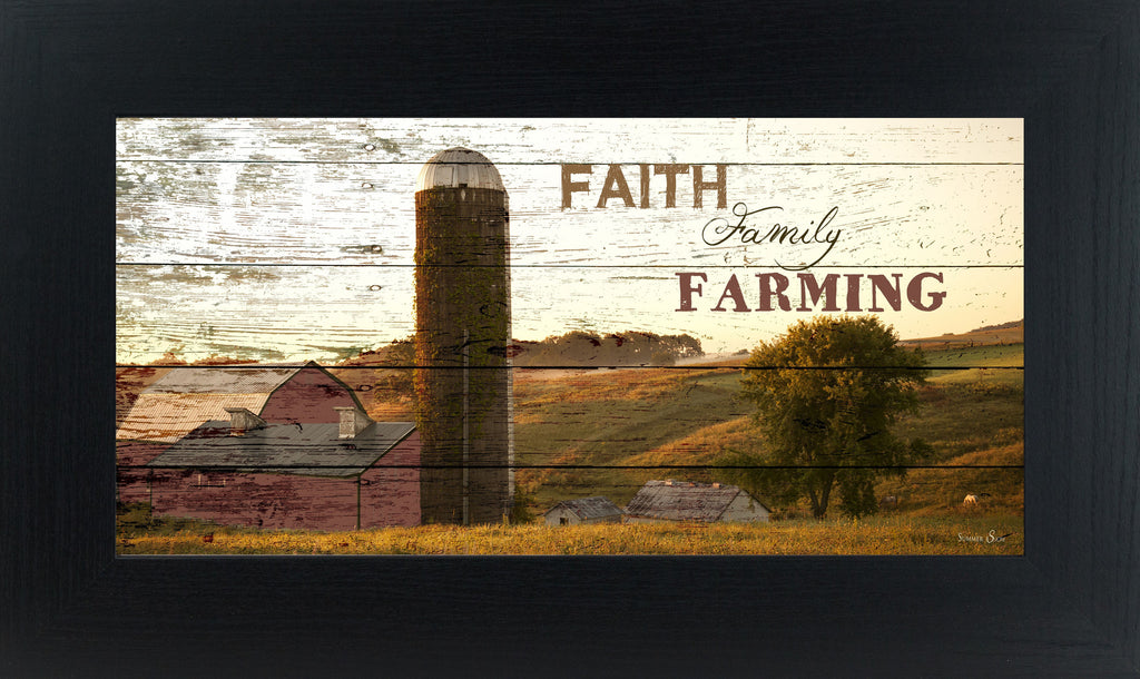 Faith Family Farming silo SSW1350 - Summer Snow Art