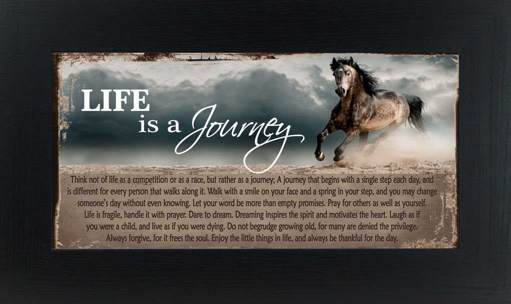 Life Is A Journey Horse SSW1499 - Summer Snow Art