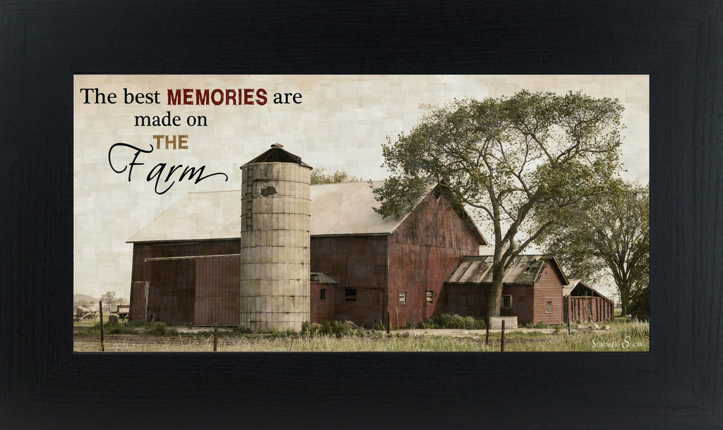 The Best Memories are Made on the Farm SSW1505 - Summer Snow Art