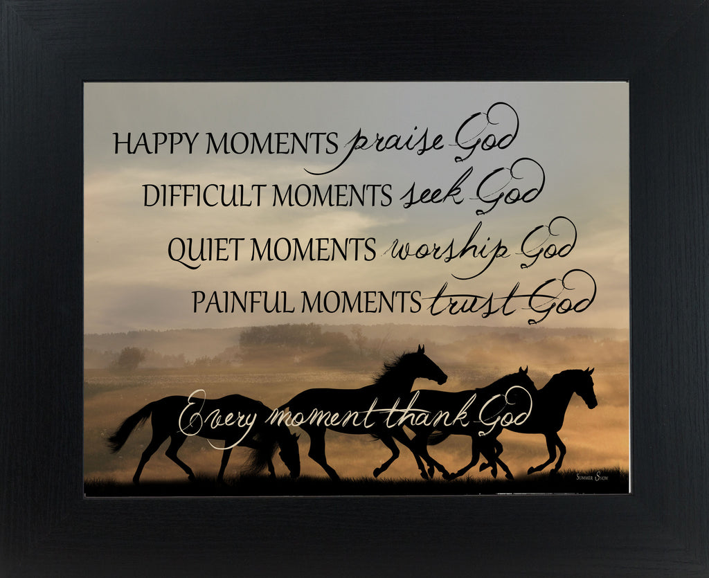 Happy Moments Horse Silhouette SSW9964