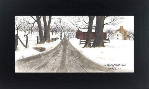 The Wintery Road Home by Billy Jacobs BJ1159 - Summer Snow Art