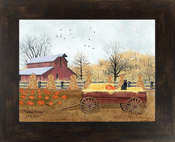 Autumn Blessings by Billy Jacobs BJ1192 - Summer Snow Art