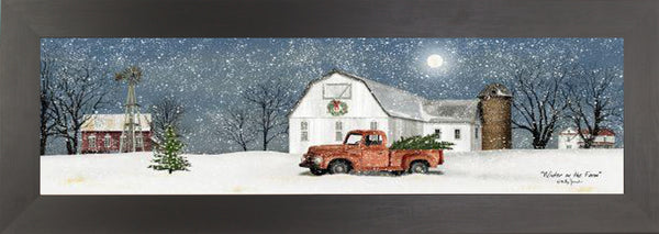 Winter on the Farm by artist Billy Jacobs BJ1194A