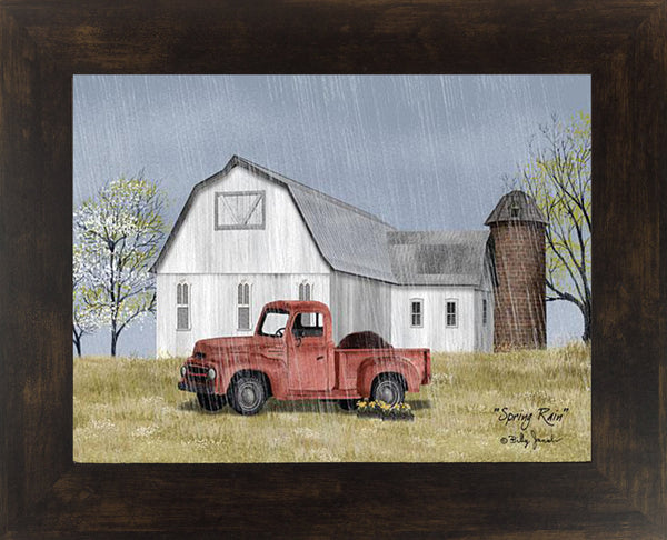 Spring Rain by artist Billy Jacobs BJ1197 - Summer Snow Art