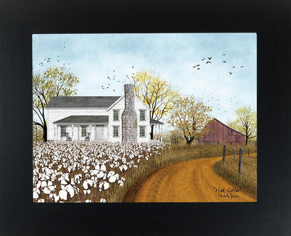 High Cotton by artist Billy Jacobs BJ1200 - Summer Snow Art