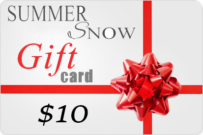 Summer Snow Gift Card
