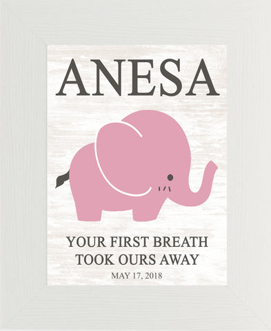 Your First Breath Took Ours Away Personalized PER149