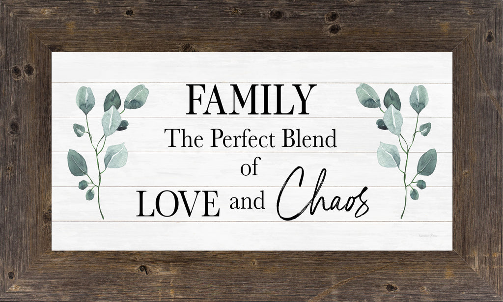 Family The Perfect Blend of Love and Chaos by Summer Snow SS1017 - Summer Snow Art