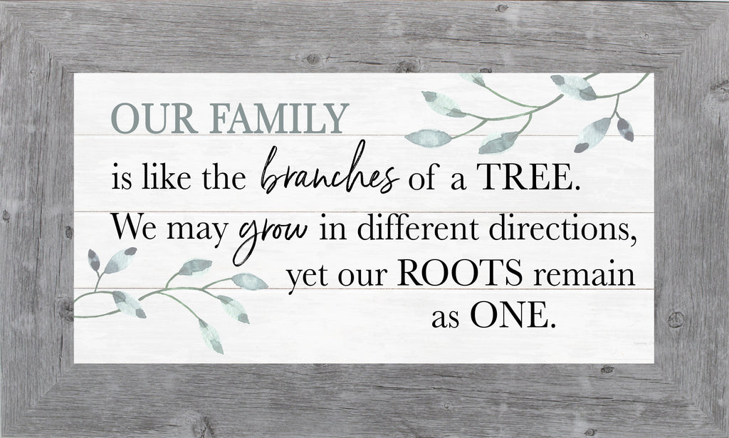 Our Family is Like the Branches of a Tree by Summer Snow SS1019 - Summer Snow Art