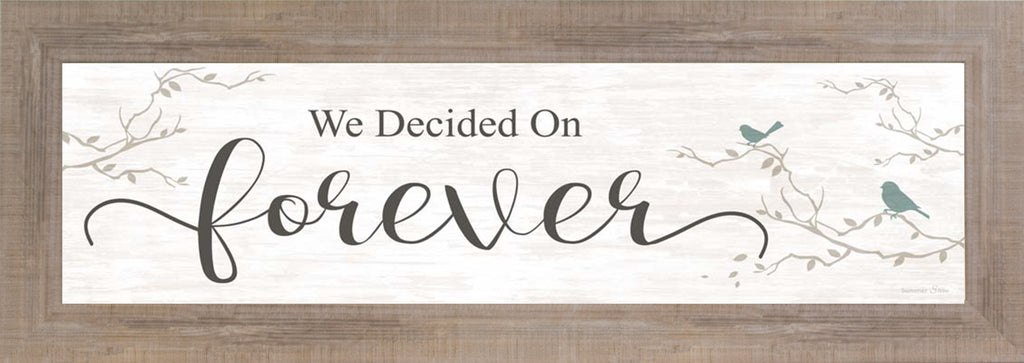 We Decided on Forever SS103612