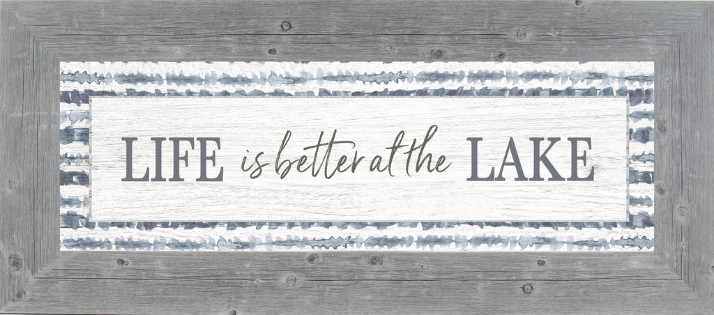 Life is Better at the Lake by Summer Snow SS103624 - Summer Snow Art