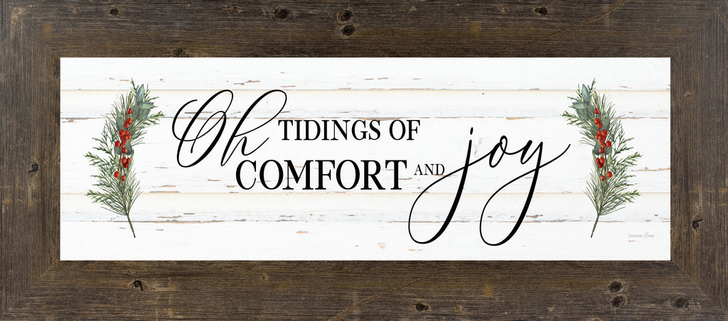 Oh Tiding of Comfort and Joy by Summer Snow SS103656 - Summer Snow Art