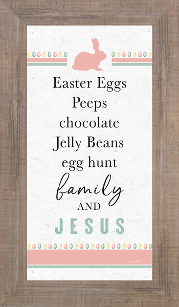 Easter Eggs Family and Jesus by Summer Snow SS1039