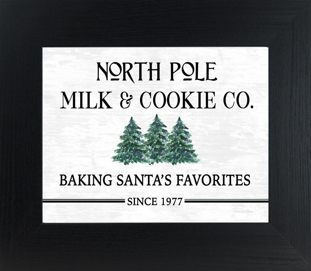 North Pole Milk and Cookie Co. by Summer Snow SS108 - Summer Snow Art