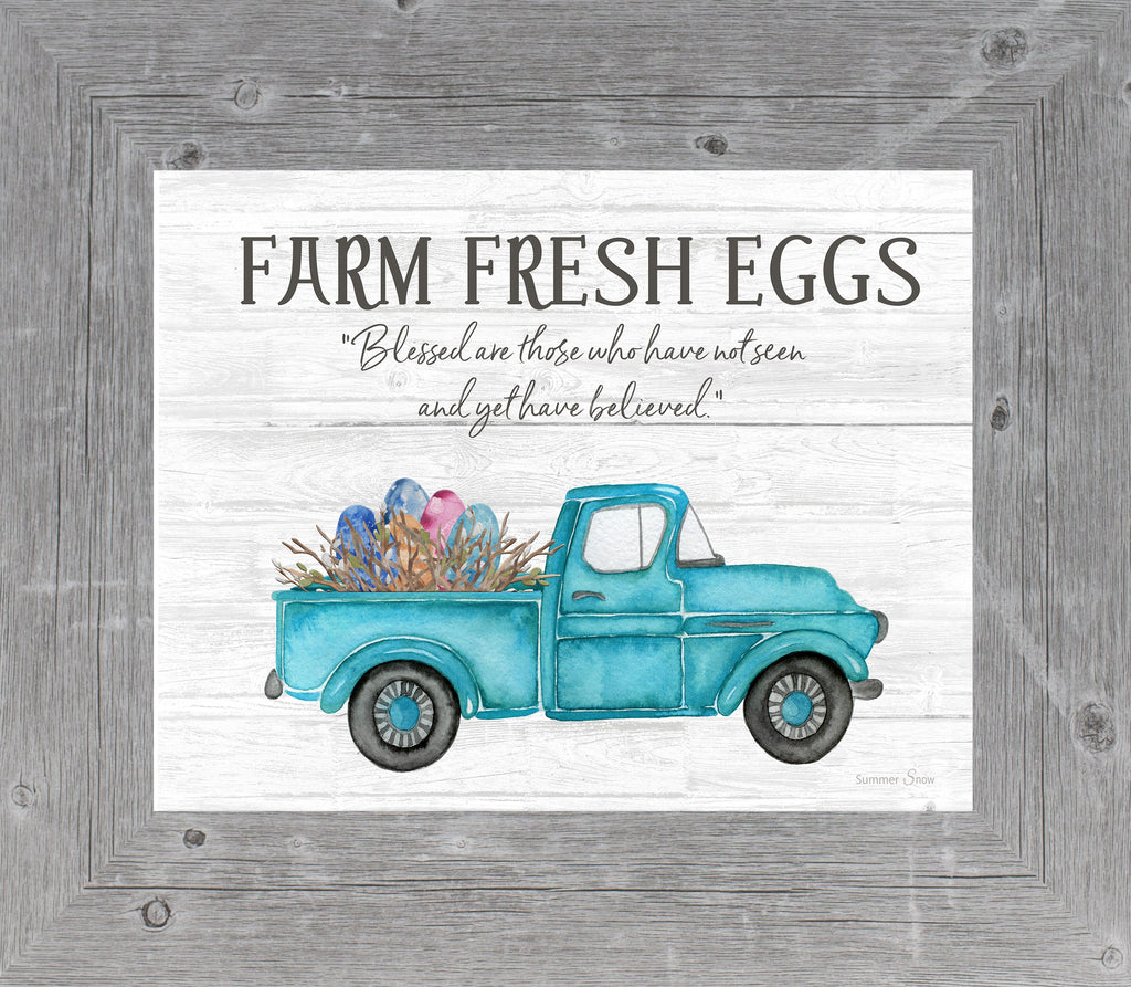 Farm Fresh Eggs by Summer Snow SS11 - Summer Snow Art