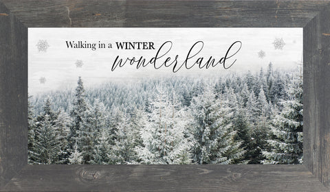 Walking in a Winter Wonderland by Summer Snow SS1363