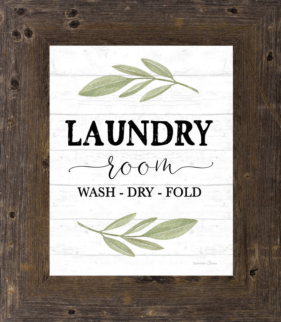 Laundry Room by Summer Snow Art SS138
