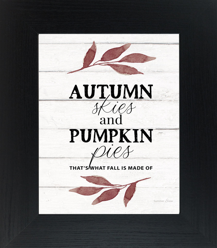 Autumn Skies and Pumpkin Pies by Summer Snow SS156