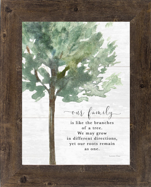 Our Family is like the Branches of a Tree by Summer Snow SS209