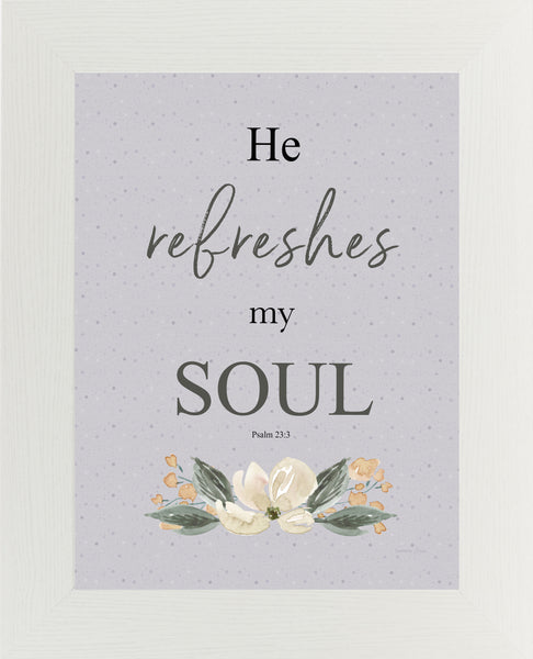 He Refreshes My Soul by Summer Snow SS210