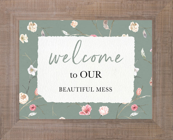 Welcome to Our Beautiful Mess by Summer Snow SS226