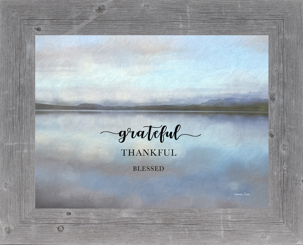 Grateful Thankful Blessed by Summer Snow SS245
