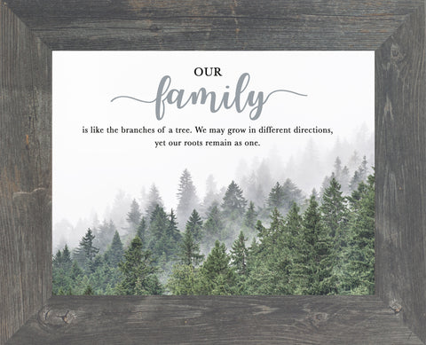Our Family is Like the Branches of a Tree by Summer Snow SS247