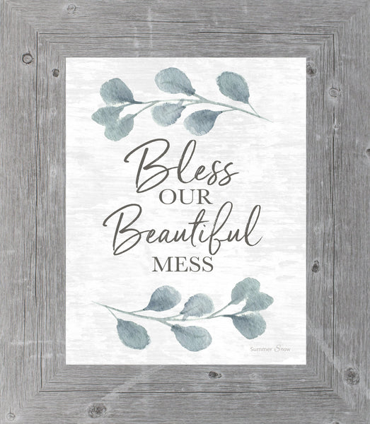 Bless Our Beautiful Mess by Summer Snow SS32 - Summer Snow Art