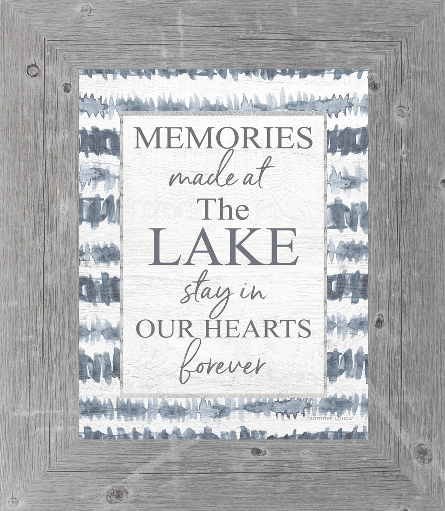Memories Made at the Lake by Summer Snow SS42 - Summer Snow Art