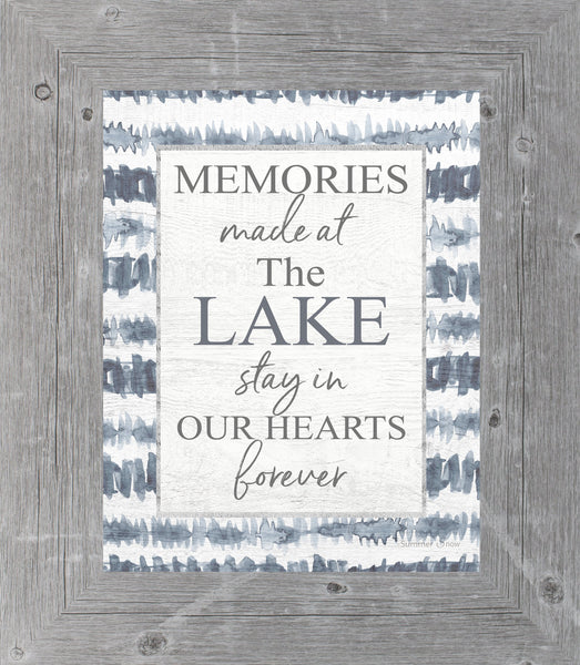Memories Made at the Lake by Summer Snow SS42