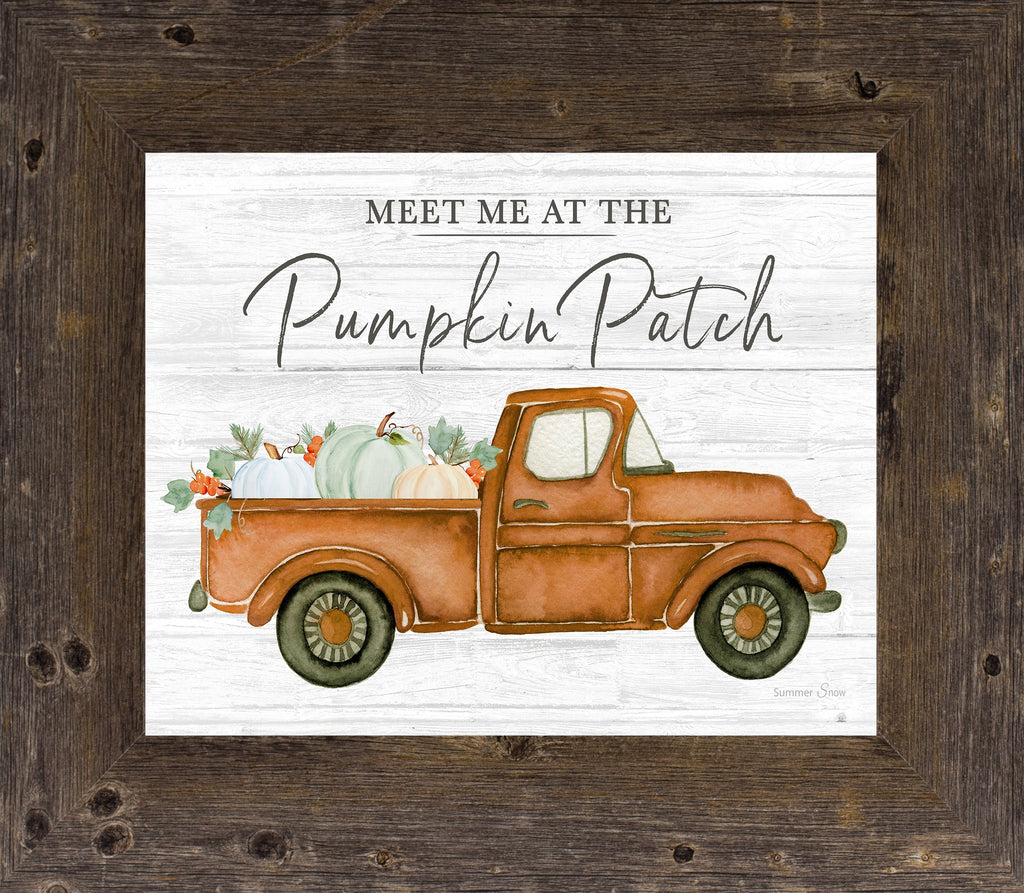 Meet Me at the Pumpkin Patch by Summer Snow SS63 - Summer Snow Art
