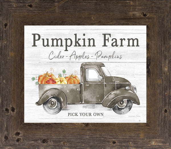 Pumpkin Farm by Summer Snow SS64 - Summer Snow Art