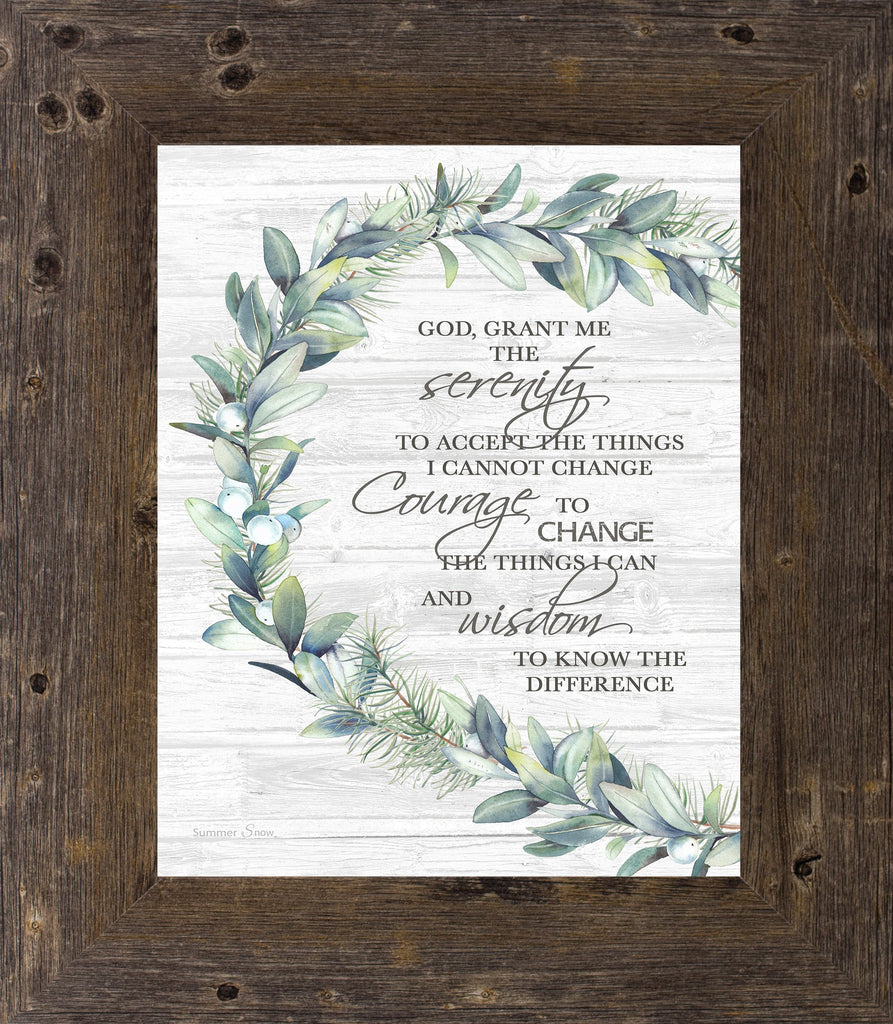 Serenity Prayer by Summer Snow SS6 - Summer Snow Art