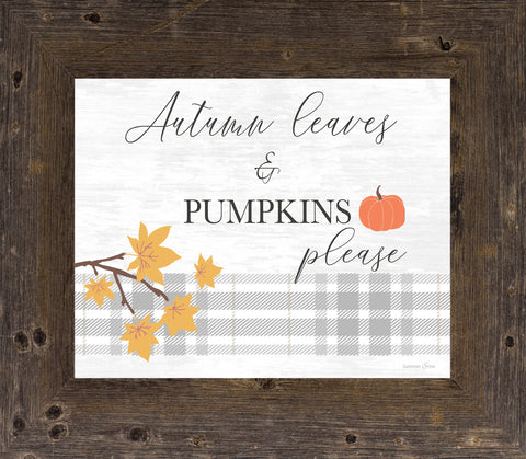 Autumn Leaves and Pumpkins by Summer Snow SS76