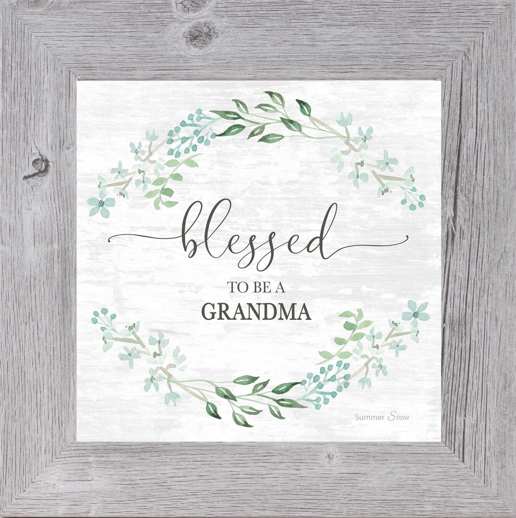 Blessed to Be a Grandma by Summer Snow SS800 - Summer Snow Art