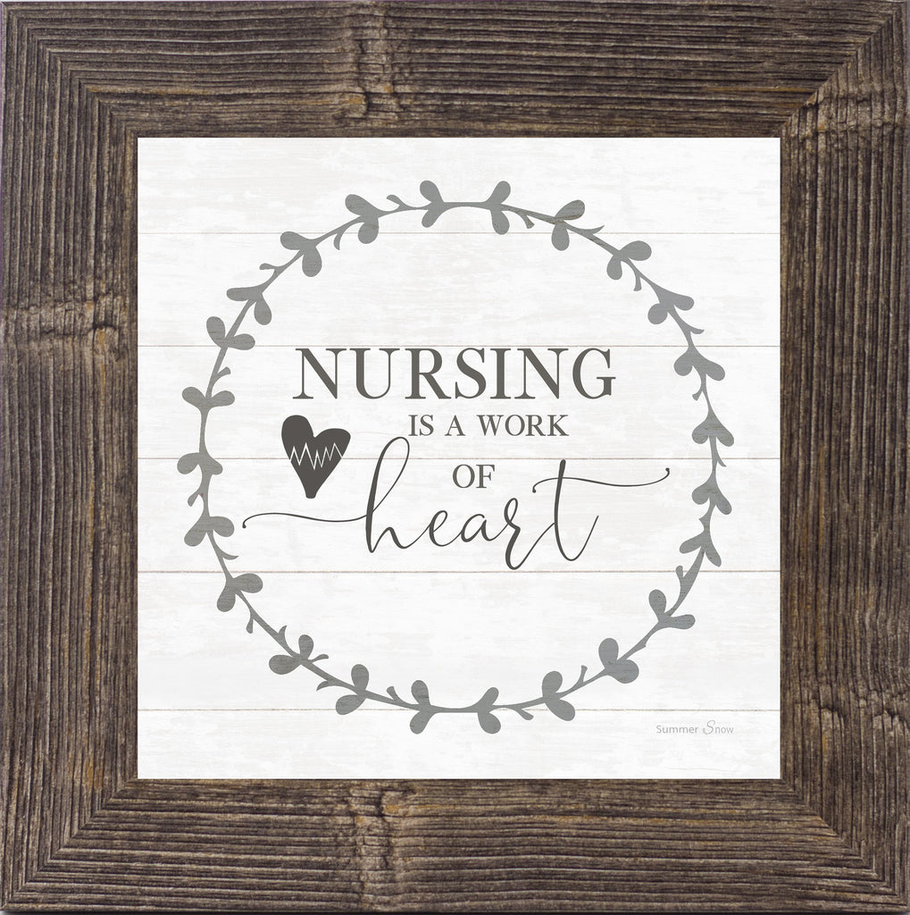 Nursing is a Work of Heart by Summer Snow SS821