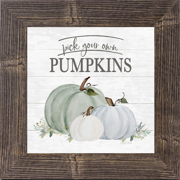 Pick Your Own Pumpkins by Summer Snow SS834 - Summer Snow Art