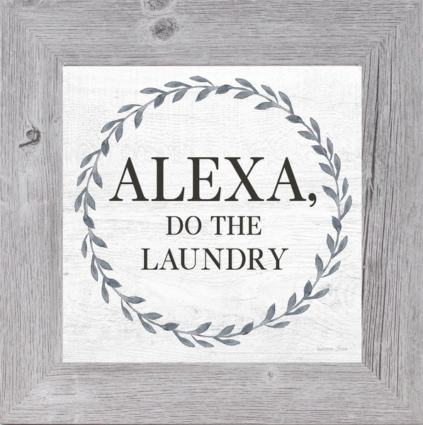 Alexa, Do the Laundry by Summer Snow SS840 - Summer Snow Art