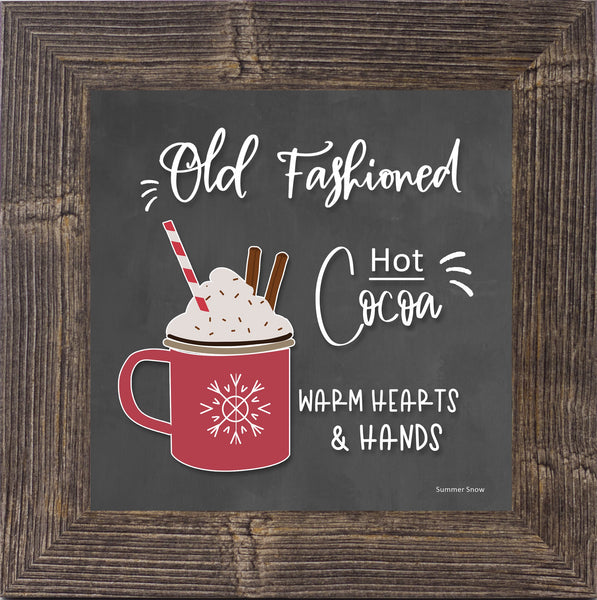 Old Fashioned Hot Cocoa by Summer Snow SS852 - Summer Snow Art