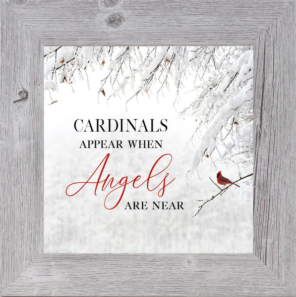 Cardinals Appear When Angels Are Near red by Summer Snow SS856