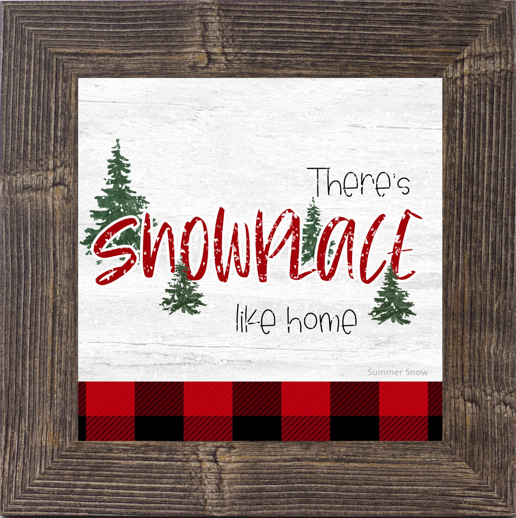 There's Snowplace Like Home by Summer Snow SS858 - Summer Snow Art