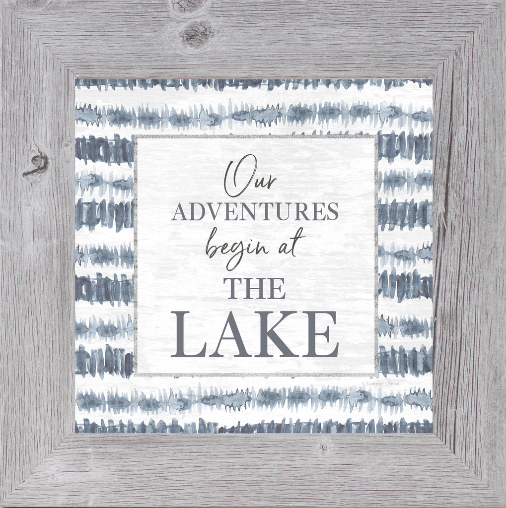 Our Adventures Begin at the Lake by Summer Snow SS862 - Summer Snow Art