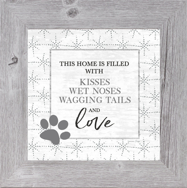 This Home is Filled With Kisses by Summer Snow SS865 - Summer Snow Art