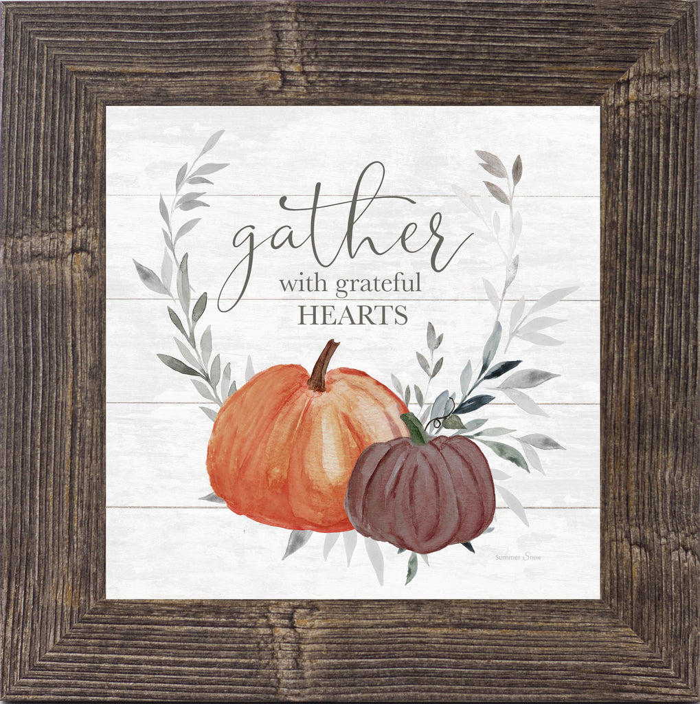 Gather With Grateful Hearts by Summer Snow SS872