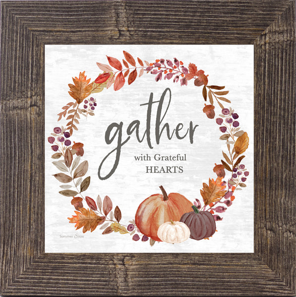 Gather With Grateful Hearts by Summer Snow SS874