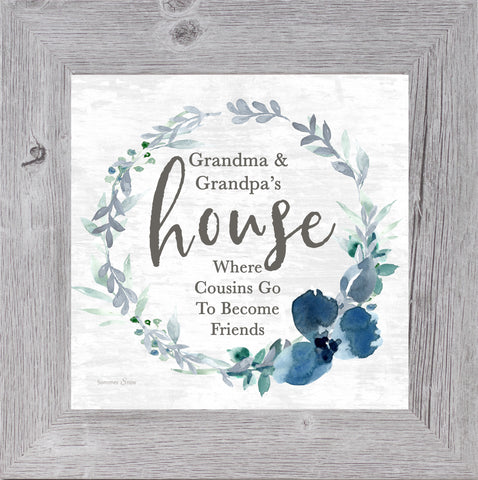 Grandma and Grandpa's House by Summer Snow SS880