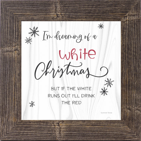 I'm Dreaming of a White Christmas Wine by Summer Snow SS881