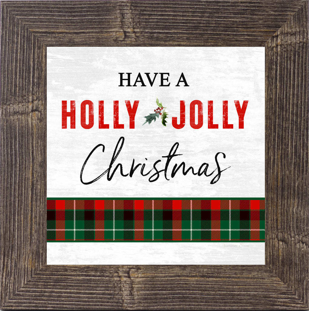 Have a Holly Jolly Christmas by Summer Snow SS885